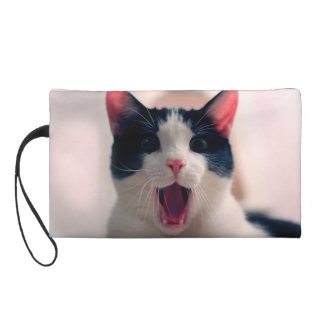 Katze meme - Katze lustig - lustige Katze memes - Wristlet Handtasche