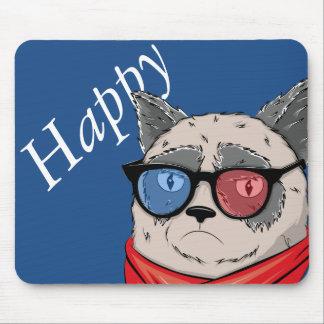 Katze Memes-House- Mousepads