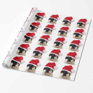 Katze mit Sankt Hut Geschenkpapier