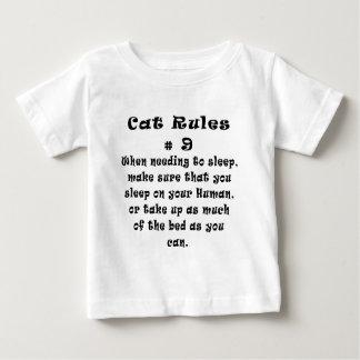 Katze ordnet Nr. 9 an Baby T-shirt