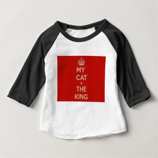 Katze Qoute Baby T-shirt