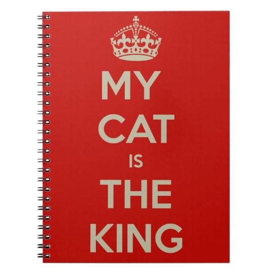 Katze Qoute Notizblock
