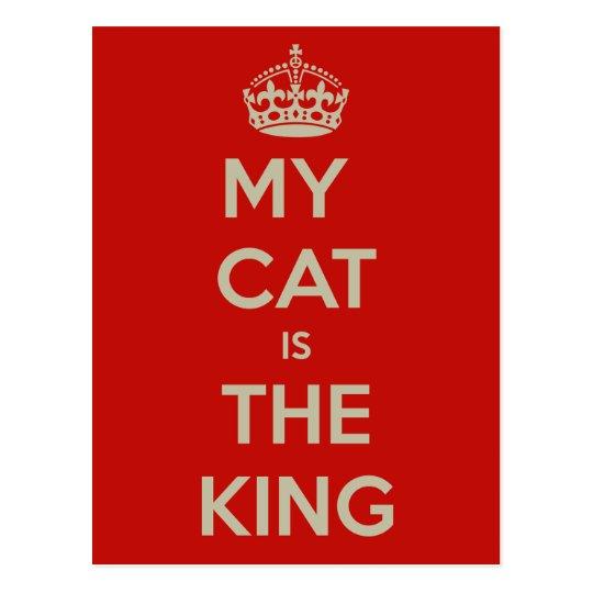 Katze Qoute Postkarte