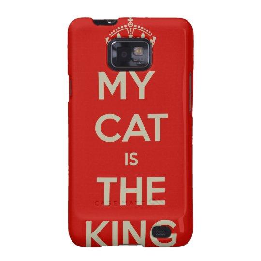 Katze Qoute Samsung Galaxy S2 Hülle