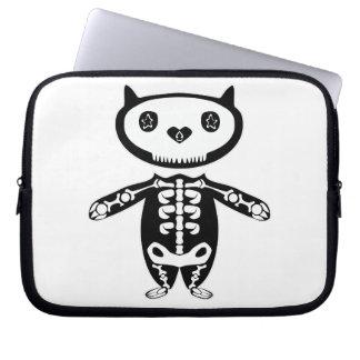 Katze sceleton Mac-Buchschutz Laptop Sleeve