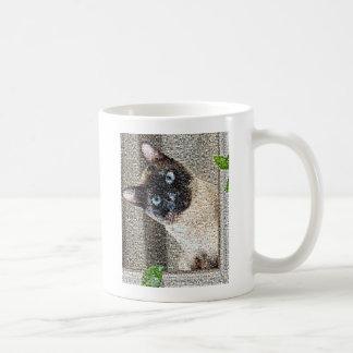 Katze - siamesisch kaffeetasse