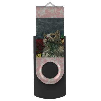 """Katze Spaß """"Zauberers von Oz"""" Baum USB Stick"""