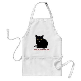 Katze: Stören Sie mich auf eigene Gefahr Schürze