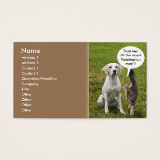 Katze u. Hund Visitenkarten