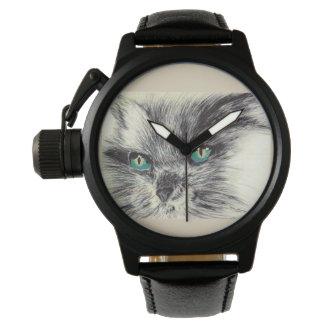 Katze Uhr