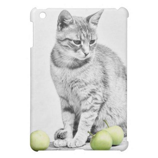 Katze und Äpfel Hüllen Für iPad Mini