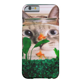 Katze und Fische - Katze - lustige Katzen - Barely There iPhone 6 Hülle