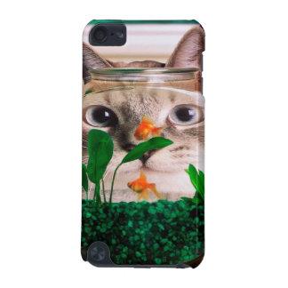 Katze und Fische - Katze - lustige Katzen - iPod Touch 5G Hülle