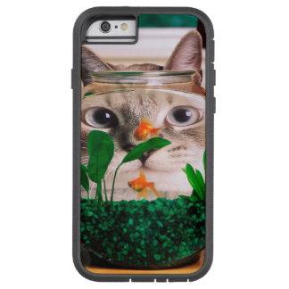Katze und Fische - Katze - lustige Katzen - Tough Xtreme iPhone 6 Hülle