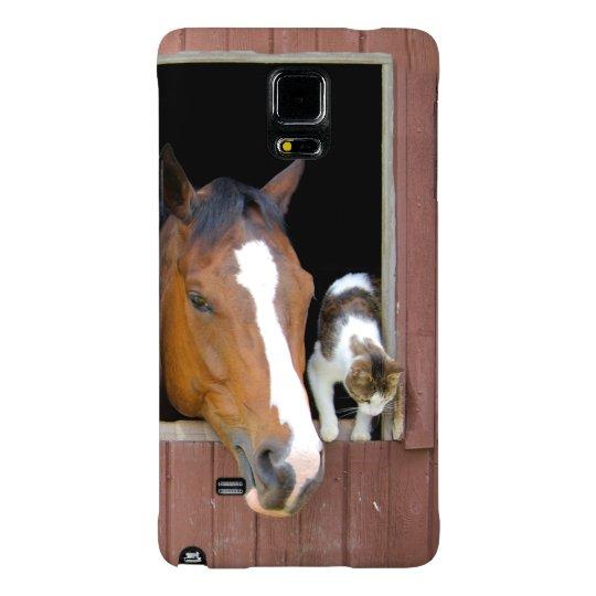 Katze und Pferd - Pferderanch - Pferdeliebhaber