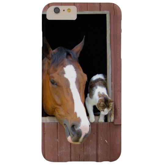 Katze und Pferd - Pferderanch - Pferdeliebhaber Barely There iPhone 6 Plus Hülle