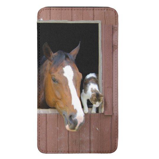 Katze und Pferd - Pferderanch - Pferdeliebhaber Galaxy S5 Tasche