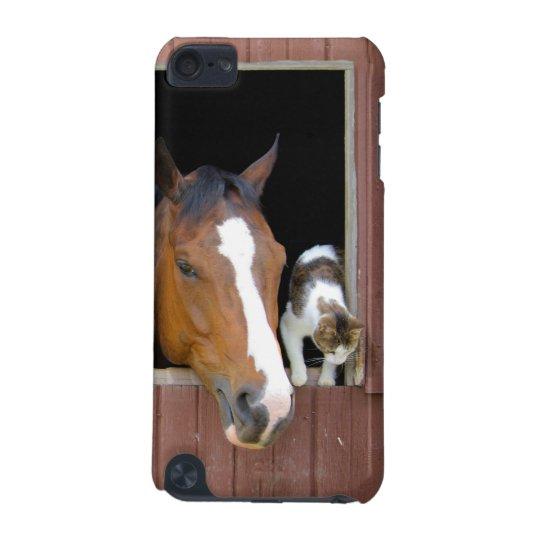 Katze und Pferd - Pferderanch - Pferdeliebhaber iPod Touch 5G Hülle