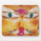 Katze und Vogel - abstrakte Kunst - Paul Klee Mousepad