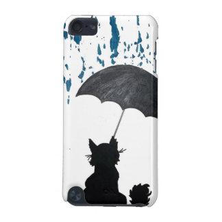 Katze unter Regenschirm iPod Touch 5G Hülle