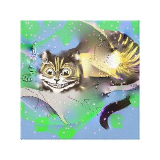 Katze Verblassenscheshire Leinwanddruck