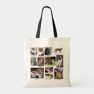 Katze züchtet farbenreiche Foto-Taschen Tragetasche