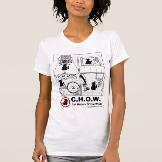 KatzeHaters des WeltCartoon-T - Shirt