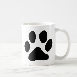 Katzen-Abdruck Kaffeetasse