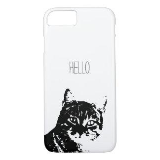 Katzen-Apple iPhone 8/7, kaum dort Telefon-Kasten iPhone 8/7 Hülle