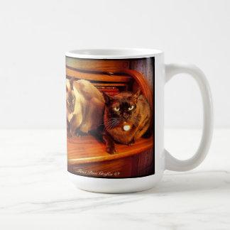 Katzen auf Rollenoberseite 2 Kaffeetasse