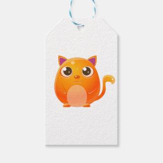 Katzen-Baby-Tier in der Girly süßen Art Geschenkanhänger