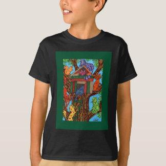 Katzen-Baum-Haus T-Shirt