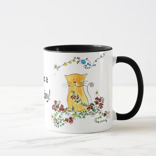 Katzen-Becher Tasse