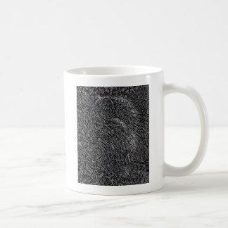 Katzen-Buntglas-Art Kaffeetasse