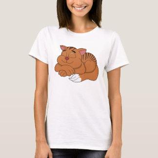 Katzen-Cartoon T - Shirt