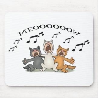 Katzen-Chor Mousepad
