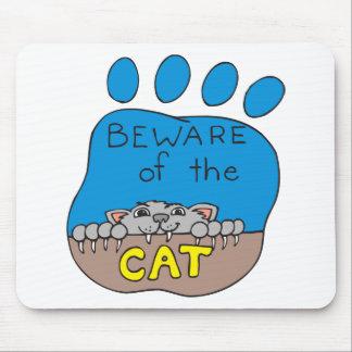 Katzen-Druck-Bild Mauspads