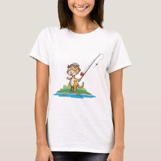 Katzen-Fischen T-Shirt