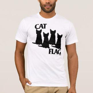Katzen-Flagge T-Shirt