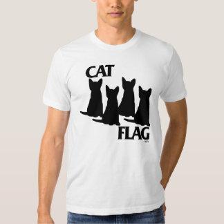 Katzen-Flagge Tshirts