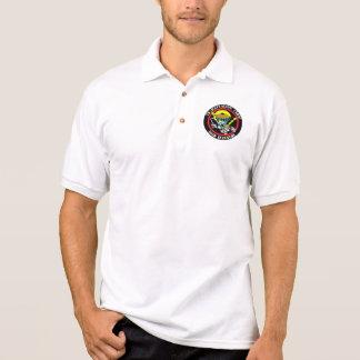 Katzen-Flecken-Polo-Shirt Polo Shirt