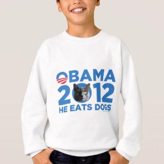 Katzen für Obama Sweatshirt