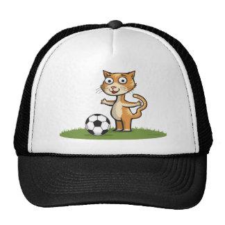 Katzen-Fußball Kultkappe