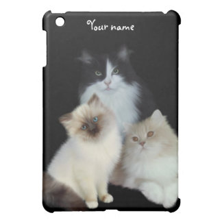 Katzen genannt hülle für iPad mini