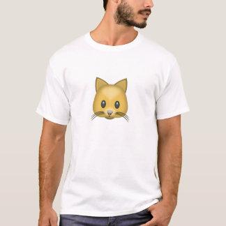 Katzen-Gesicht Emoji T-Shirt