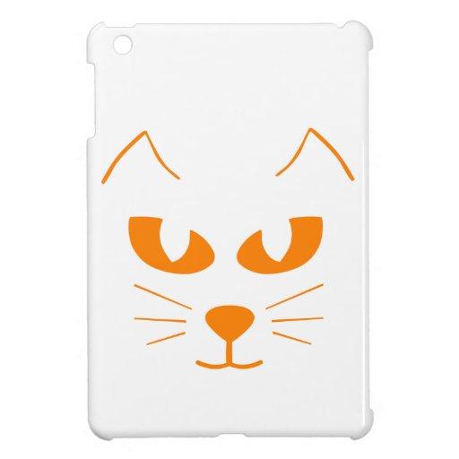 Katzen-Gesicht iPad Mini Schale