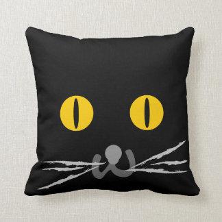 Katzen-Gesicht Kissen