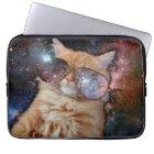 Katzen-Gläser - Sonnenbrillekatze - Katzenraum Laptopschutzhülle