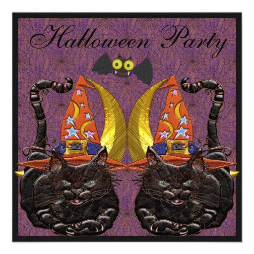 Katzen-Juwelen u. niedliches Individuelle Einladungskarten