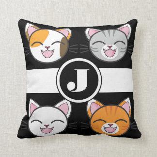 Katzen, Katzen u. Katzen umschaltbar Kissen